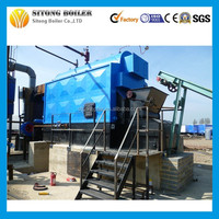 Coal fired wood pellet Small water boiler for heating home