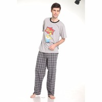 Fashion Men Homewear Men Cotton Sleepwear