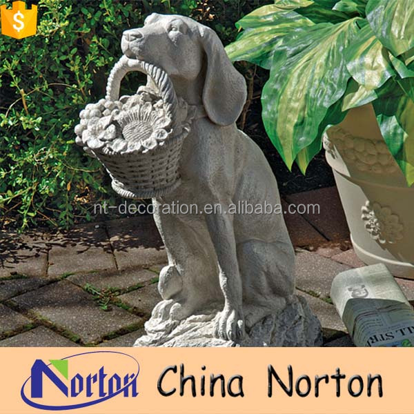 wholesale garden decoration stone dogs statue sculpture NTMS-760X