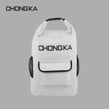 New arriving best price polyester material waterproof simple promotional customized printed backpack