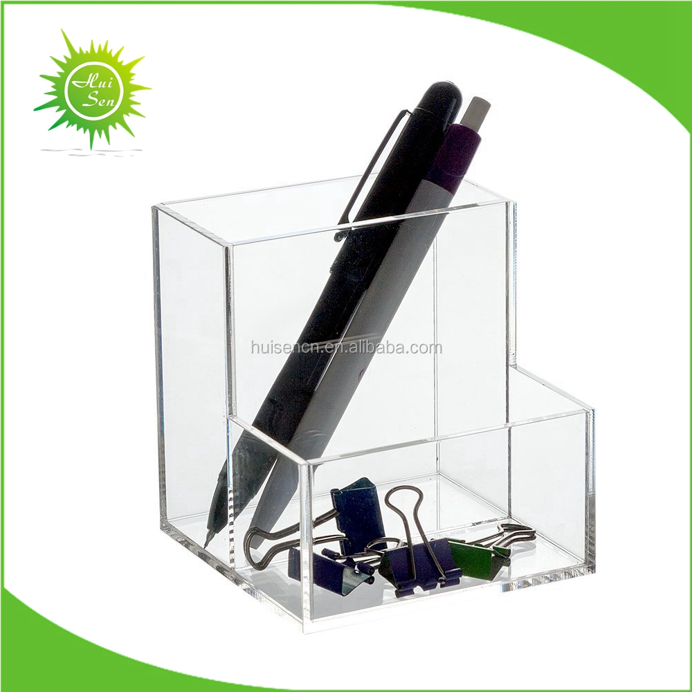 Acrylic desk organizer pen holder set for office buy - Acrylic desk organizer set ...