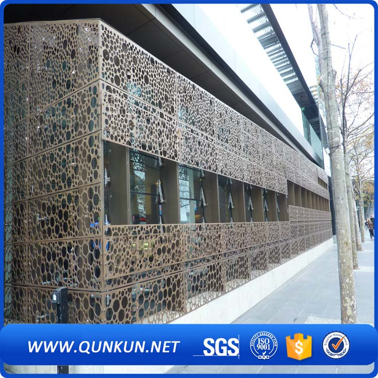 beautiful decoration perforated metal <strong>mesh</strong>