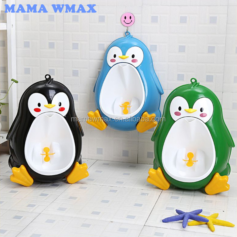 Lovely Children Potty Toilet Training Kids Urinal for Boys Plastic Baby Urinal Pee Trainer