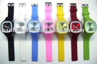 SS.com HOT !!! fashion Jelly Silicone Watch