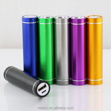 High quality slim portable 2600mah shenzhen mobile power