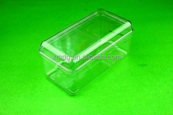 Take away food container, clear and eco-friendly