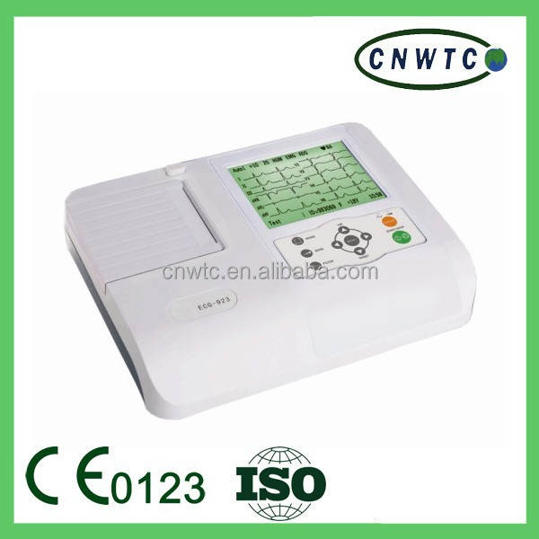 three channel 12 leads ECG machine