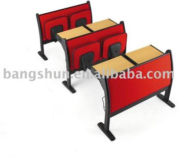 comfotable wholesale school furniture desk and chair/Student desk and chair