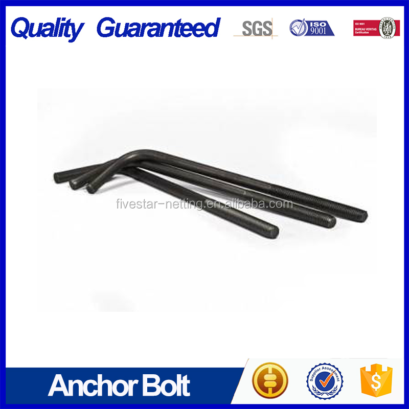 Plain M10 anchor bolts