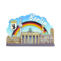 High quality resin berlin souvenir fridge magnet