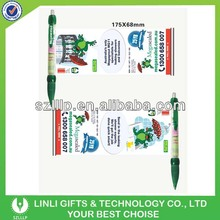 Promotion Gift AD Banner Pen With CMYK Logo