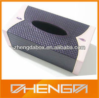 High Quality Customized Made-in-China Rectangular Wooden Tissue Box(ZDW13-W578)