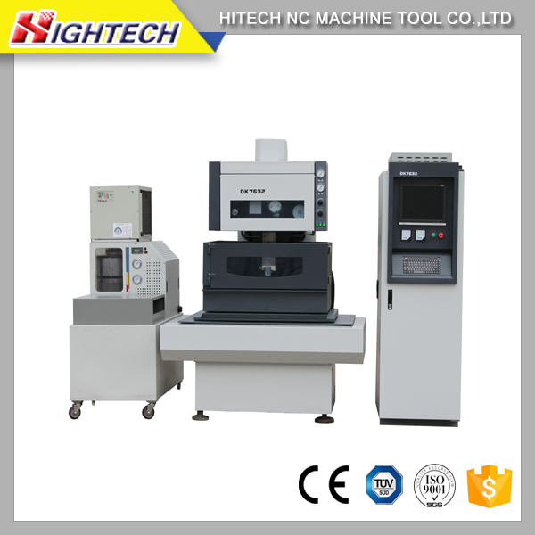 DK77100 EDM brass wire cutting machine low price