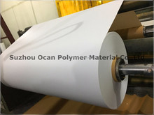rigid white plastic pvc film for printing