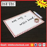 week plan plastic writing board by better supply for wholesale