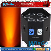 christmas lights project / battery wireless led / 6*10w rgbaw uv 6-in-1 wireless battery led
