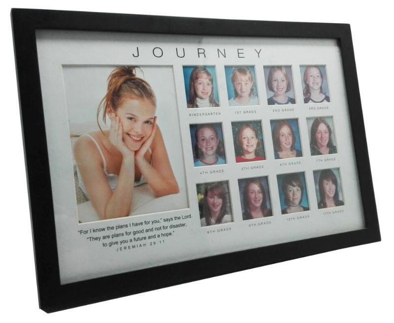 Graduation Gown 2X3 Acrylic Buddha Picture Frame