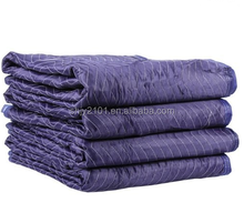 Polyester fabric waterproof outdoor moving blanket for packing furniture