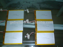 GEB6767100 3.7v li-ion polymer battery 5000mah