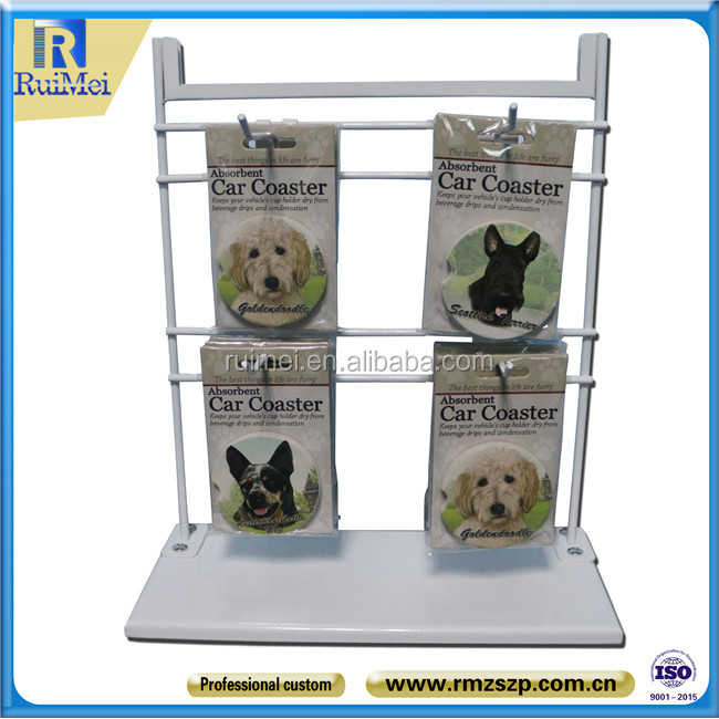 Desktop stand for hanging jewelry Pet jewelry display rack