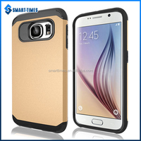 [Smart-Times]Fashion 2 in 1 Armor mobile cell phone case for Samsung for Galaxy S6 G920T PC+TPU cell phone cover