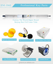 Co2 laser tube 75W 90W 100W 130W 150W (all machine parts can be provided)