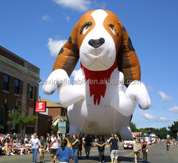 Promotional inflatable dog , inflatable cartoon statues, inflatable replica for advertising