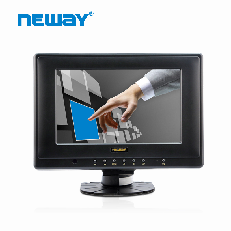 Standing Lcd Touchscreen Monitor Vga 7 Inch For Car