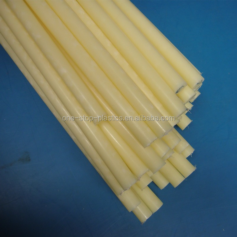 CNC customized high strength nylon Plastics rod Free sample high impact PA rod