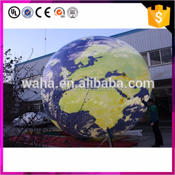 Hot sale the new products the LED giant inflatable solar system planet Venus for advertising decoration
