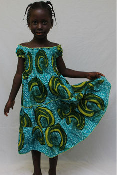 African prints for girls