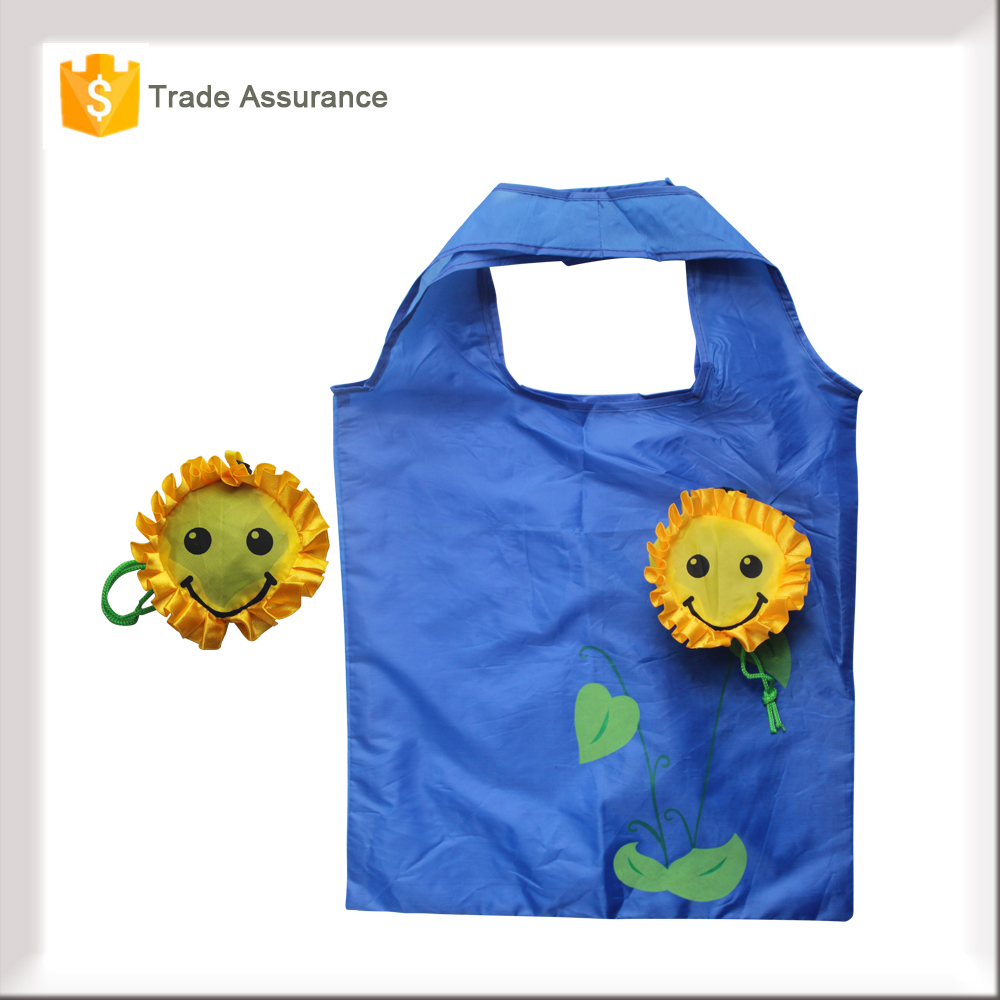 Environment-friendly Recycled Polyester Foldable Shopping Bag