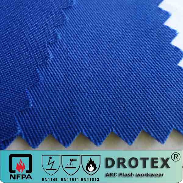 NFPA2112 Fireproof Textile Fabric for Fire Resistant Work Cloth