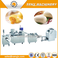 low price commercial use steamer buns/ bread production forming line