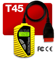 Factory price CAN OBD2 Check Engine Light Car auto scanner /VAG trouble code reader with multi-language T45
