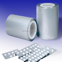 Clear transparent PVC hard sheet /ready made pharmaceutical packing materials