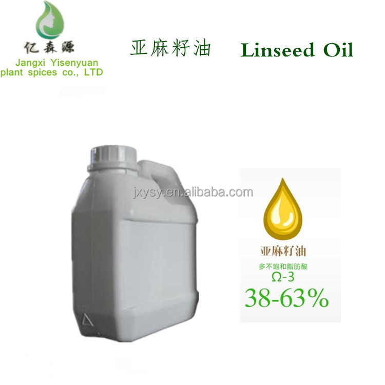 Bulk Factory Supply Linseed Oil Food Grade Raw Linseed Oil New Products Price For Wood