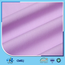Wholesale 45s 65 poly 35 cotton plain woven poplin fabrics for shirts