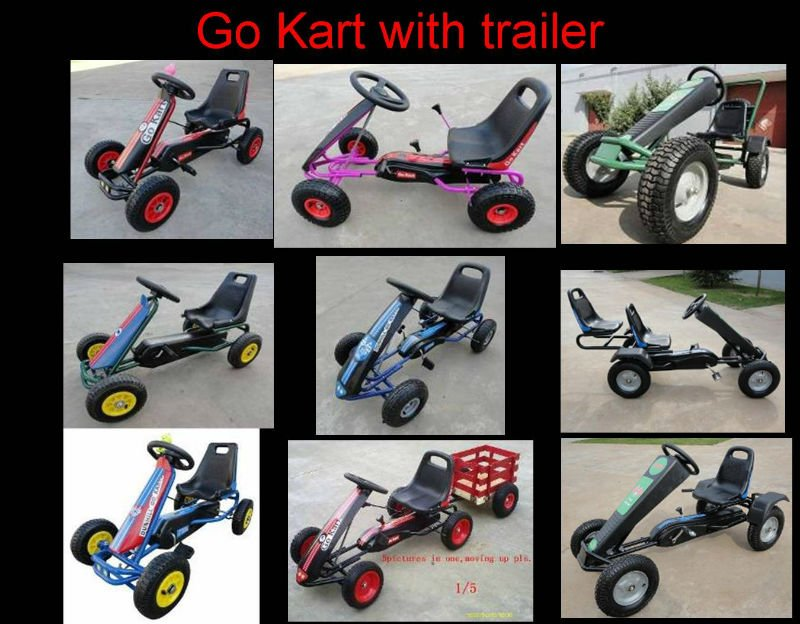 Hot sale double seats go karts