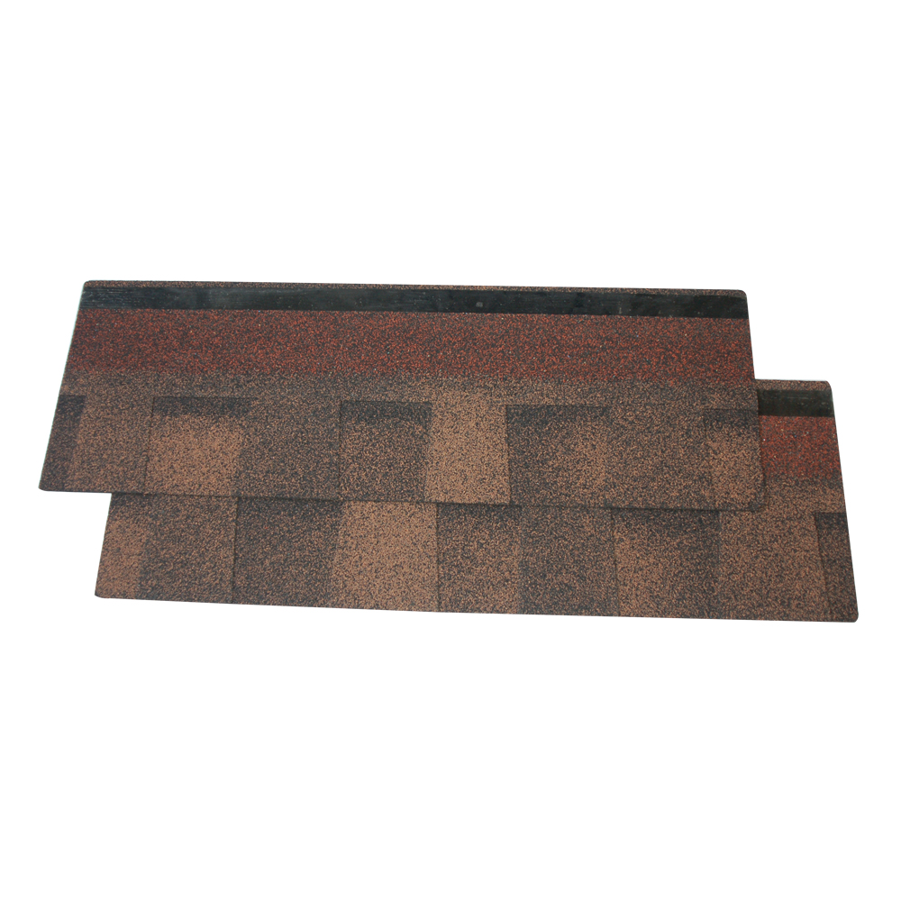 Laminated roofing tile / double layer asphalt shingle / Laminated asphalt tile