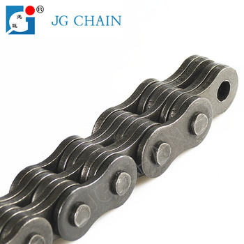 LH1234 zhejiang zhuji chain factory short pitch steel forklift dragging parts BL634 leaf chain