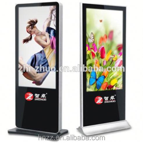 42 inch Vertical Display, Indoor Advertising Kiosk Lcd Monitor, Touch screen kiosk totem