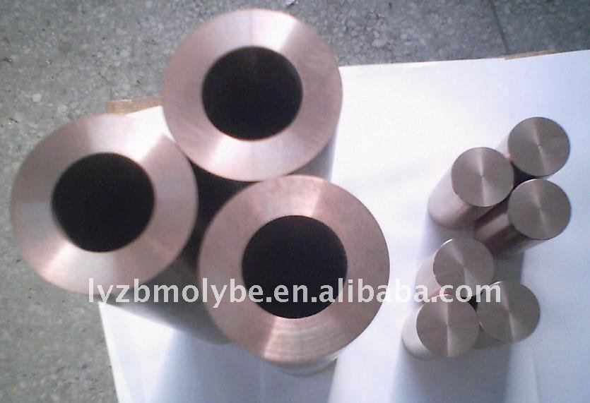 copper tungsten alloy tube/pipe/rod