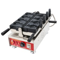 snack machine factory commercial electric taiyaki waffle maker making machine