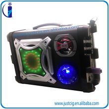 40W Karaoke reverberation UK-02 backpack led melody bluetooth speaker with FM Radio
