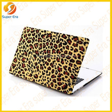 "Leopard pattern case for macbook air/pro hard case shell 11"" 13"" 15"" inches best quality ,rubber hard case for macbook"