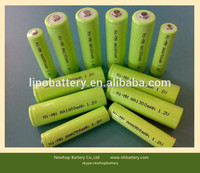Top sale ni mh aaa 250 mAh 1.2v rechargeable batterie for led light