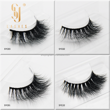private label 100% cruelty free Siberian Mink Eye lashes with manegetic boxes