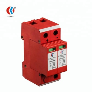Factory 2 Poles Single Phase DC110V 24V 48V Power Surge Protective Device for DC Bus