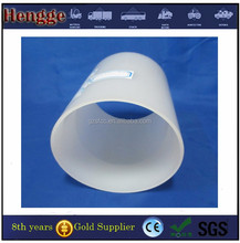Frosted light diffusing transparent polycarbonate tube